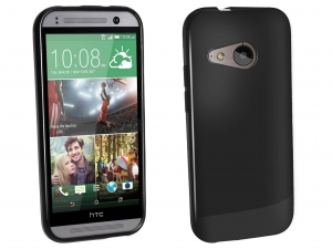 Etui TPU do HTC One mini 2 (czarne matowe)