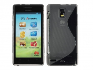 Etui TPU S-line do Huawei Ascend P1 (transparentny)