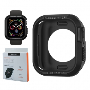 Etui Spigen Rugged Armor do Apple Watch 4 44mm (czarne)