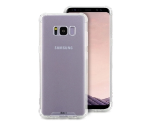 Etui hybrydowe Direct Bayer do Samsung Galaxy S8 Plus (transparentne)