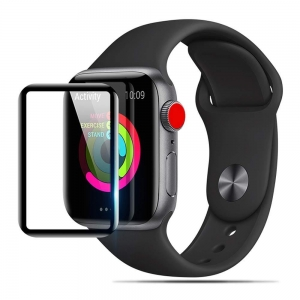 Szklana folia do Apple Watch 4 44mm (czarna)