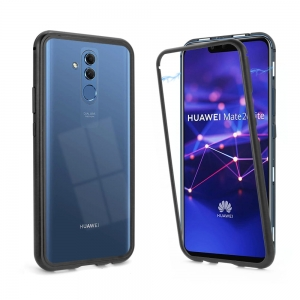Magnetyczne Etui Magnetic Case do Huawei Mate 20 Lite (czarne)