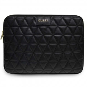 "Oryginalne etui Guess Quilted na laptop 13"" (czarne)"