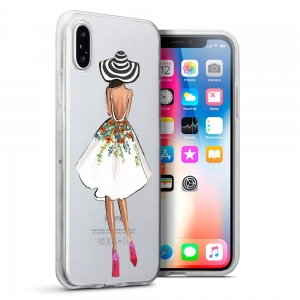 Etui Intede do Apple iPhone X z wzorem Fashion3