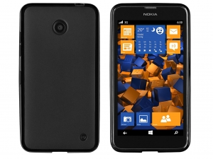 Etui TPU do Nokia Lumia 630 matte black
