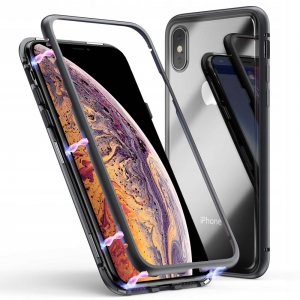 Magnetyczne Etui Magnetic Case do Apple iPhone XS Max (czarne)